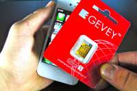 How To Unlock iPhone 4S with the GEVEY™ Ultra S Sim
