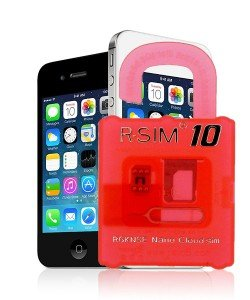 Unlock iPhone 4S R-Sim 10 Interposer