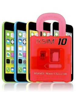 Unlock iPhone 5C R-Sim 10