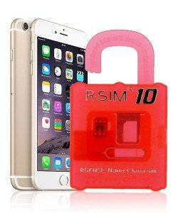 R-Sim 10 Unlock iPhone 6 Plus
