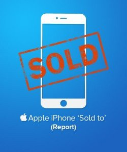 Apple iPhone Sold To Report Information Check