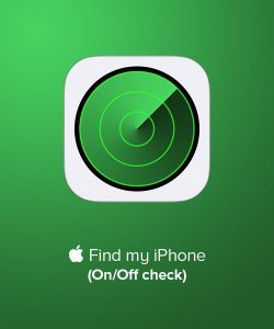 Find My iPhone On / Off Checker