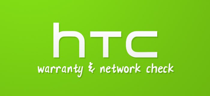 HTC warranty & network check