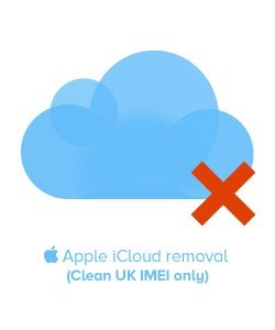 Apple iPhone iCloud Removal Clean IMEI (UK Only)