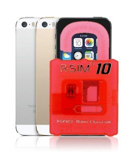Unlock iPhone 5S R-Sim 10 Interposer