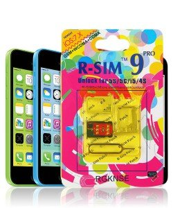 Unlock iPhone 5C R-Sim 9 Pro Interposer