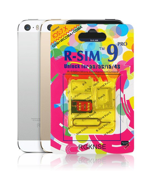 514a6455bae Unlock iPhone 5S, R-SIM 9 PRO, iPhone 5S Unlocking Service
