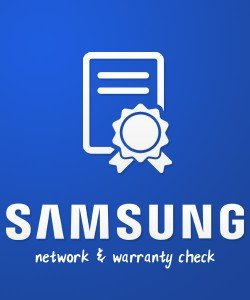 Samsung Phone Network Report & Samsung Warranty Check