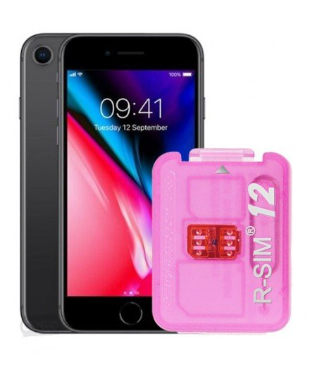 R-Sim 12 Unlock iPhone 8 UK, iOS 11, iPhone Unlocking Service