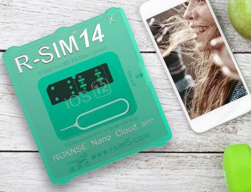 What is the R SIM 14 iPhone Nano Cloud SIM ICCID Unlock Card?