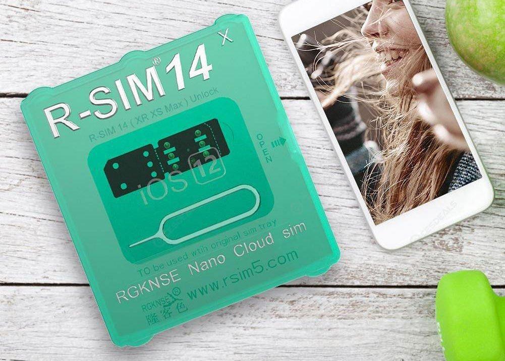 R SIM 14 iPhone Nano Cloud SIM ICCID Unlock Card