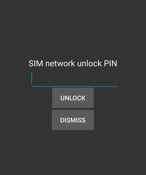 SIM Network Unlock PIN (Unlock Code)