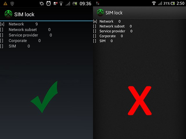 Screenshot: What to look for with a Sony counter block.