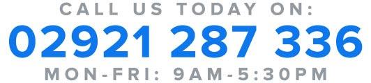 Call us on:  02921 287 336