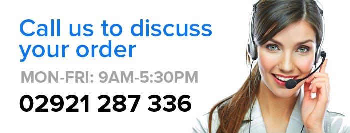 Call us on: 02921 250 901